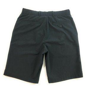 Slazenger Dark Charcoal Flat Front Golf Shorts, 32